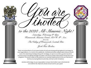 All Masonic Night @ Kennewick Masonic Center